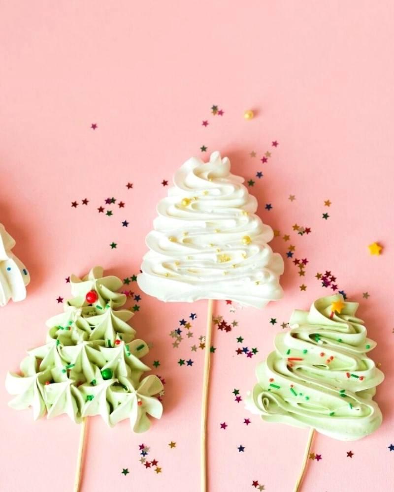 zelf meringues maken voor kerst